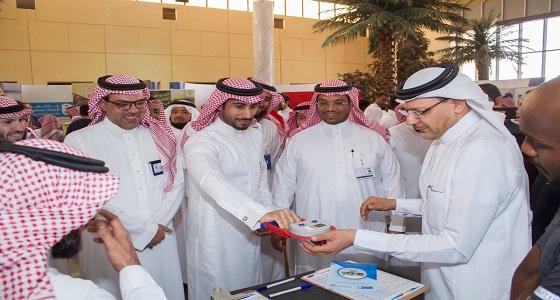 """بالصور.. الجهني يفتتح حملة """" صحتك نعمة """" برعاية مدير جامعة الملك سعود"""