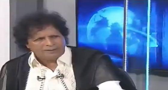 """بالفيديو.. """" قذاف الدم """" يعري النظام القطري ويكشف عما فعله للوقيعة بين المملكة وليبيا"""