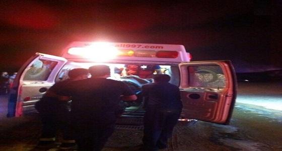 وفاة و5 إصابات في حادث مروري على طريق الظبية باتجاه جدة