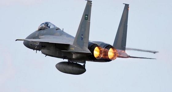 قوات التحالف: سقوط طائرة للتحالف تابعة للقوات الجوية السعودية في منطقة عسير ونجاة طياريها