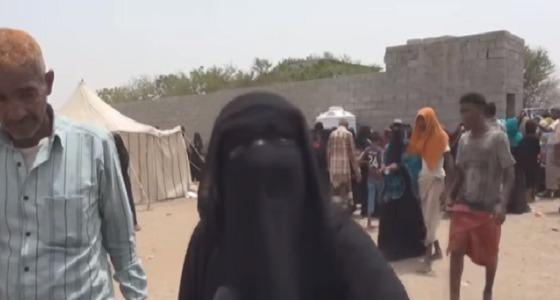 """بالفيديو.. يمنية تصرخ """" احسموا الحرب وأخرجوا الحوثيين """""""
