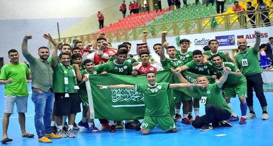 بالصور.. للمرة الأولى ناشئو الأخضر لكرة اليد يتأهلون إلى كأس العالم