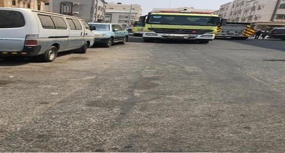 إصابة 4 أشخاص إثر حريق شقة سكنية بجدة