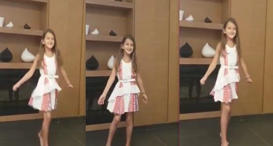 بالفيديو.. ابنة نانسي عجرم ترقص على أغنيتها الجديدة
