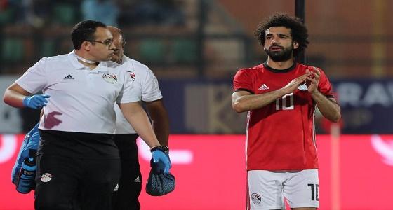 تفاصيل إصابة محمد صلاح مع منتخب مصر