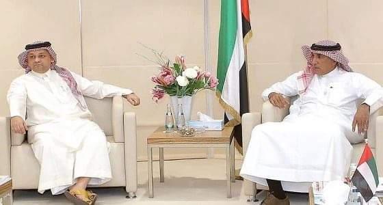 رئيس الرياضة الإماراتية يستقبل عادل عزت لمناقشة ملف ترشحه للاتحاد الآسيوي