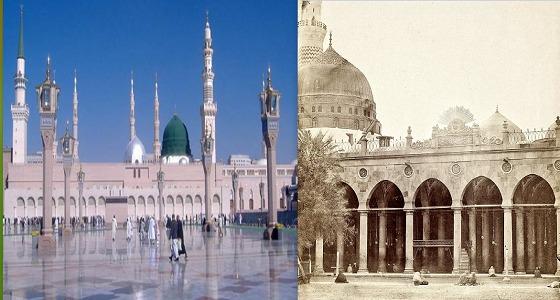 صورة للمسجد النبوي قبل 138 عامًا