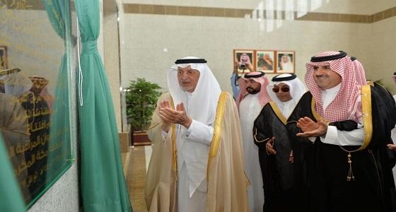 أمير مكة يفتتح المبنى الجديد لفرع ديوان المراقبة العامة بجدة