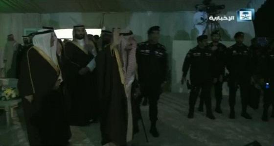 بالفيديو.. خادم الحرمين الشريفين يُشرف حفل استقبال أهالي تبوك