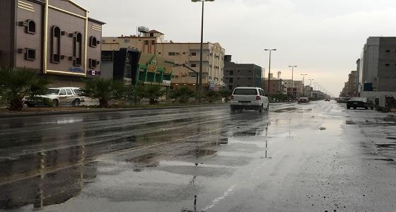 هطول أمطار من خفيفة إلى متوسطة على تبوك