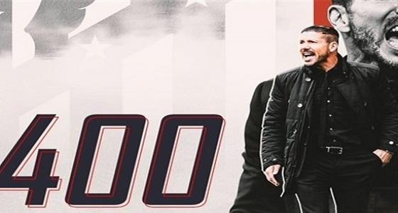 سيميوني يتحدث عن إنجاز الـ 400 مباراة وأهم ما حققه لأتليتكو مدريد