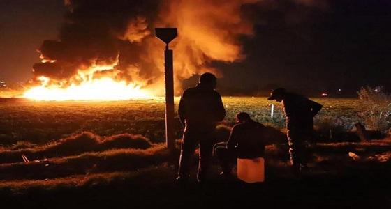 ارتفاع ضحايا انفجار خط أنابيب للوقود بالمكسيك إلى 85 قتيلا