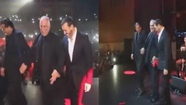 بالفيديو.. كاظم الساهر يرقص الدبكة مع الفرقة خلال حفلته بباريس