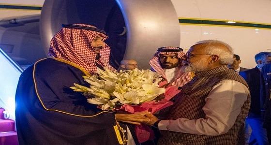 بالصورة.. نوعية الورود التي أهداها رئيس وزراء الهند لسمو ولي العهد ودلالتها