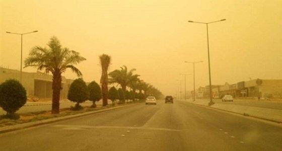 رياح مثيرة للأتربة والغبار على مكة والرياض والجوف