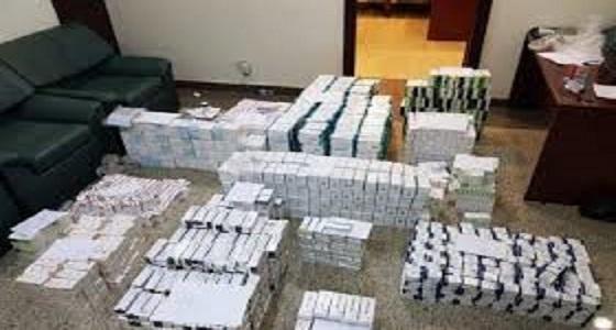 الإطاحة بـ 5 وافدين سرقوا أدوية بمبلغ 4 ملايين ريال