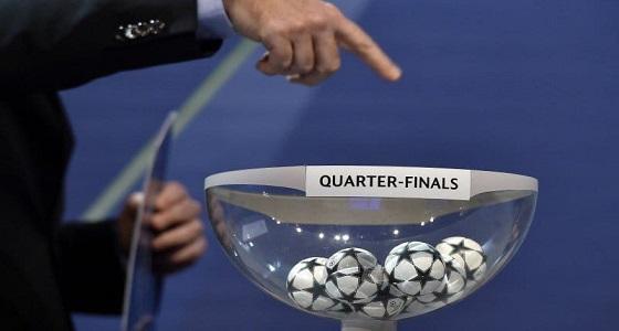 نتائج قرعة الربع النهائي لدوري أبطال أوروبا