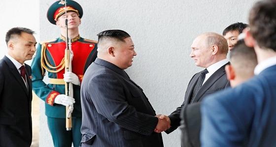 بدء القمة بين بوتين وزعيم كوريا الشمالية