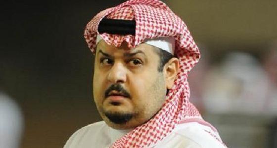 الأمير عبد الرحمن بن مساعد ينعي أم زوجته