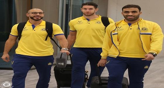 بعثة النصر تستعد لمغادرة الرياض
