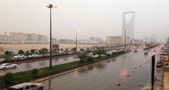 """"""" الأرصاد """" تحذر من هطول أمطار غزيرة على الرياض"""