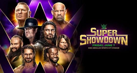 أسعار تذاكر عرض WWE Super ShowDown في جدة