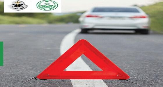 """نصائح هامة من """" أمن الطرق """" لقائدي المركبات أثناء العطل المفاجئ للسيارة"""