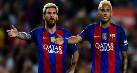 """"""" ميسي """" يضغط على برشلونة لإعادة نيمار"""