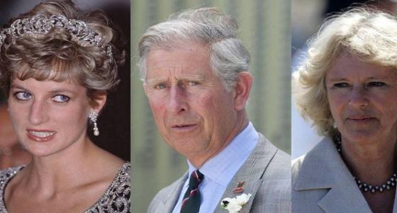 علاقة صادمة تجمع الأميرة ديانا وزوجة الأمير تشارلز الحالية