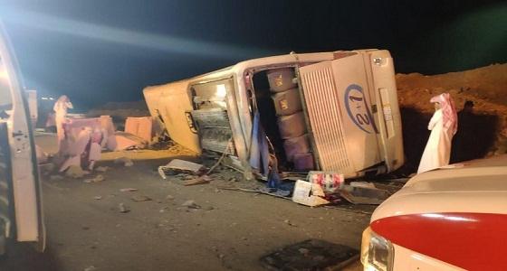 إصابة 31 شخصًا.. تفاصيل حادث رنية – الخرمة