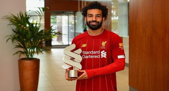 محمد صلاح يتوج بجائزة لاعب الشهر في ليفربول