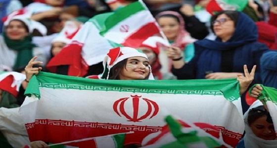 خضوع إيراني لـ « فيفا ».. شاهد الإيرانيات في الملاعب رسميًا