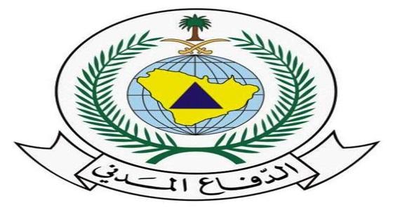 الدفاع المدني بجازان يدعو لأخذ الحيطة من حدوث تقلبات جوية