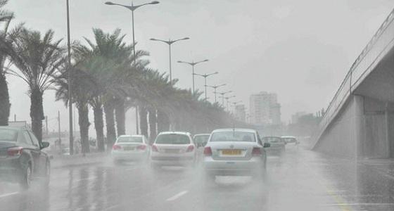 هطول أمطار على الطائف وميسان.. و«العمليات الأمنية» تحذر