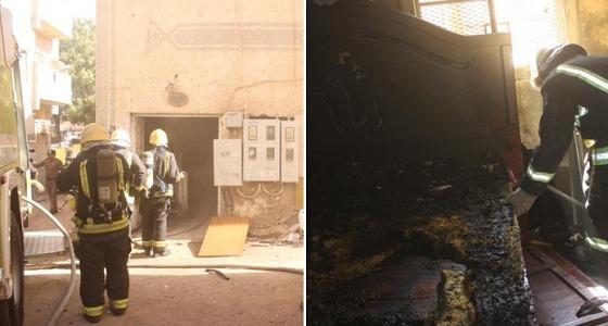 إصابة شخصين إثر اندلاع حريق في شقة بالمدينة المنورة