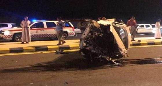 حادث مروع بـ «حسينية مكة» يسفر عن وفاة وإصابة 5 أشخاص