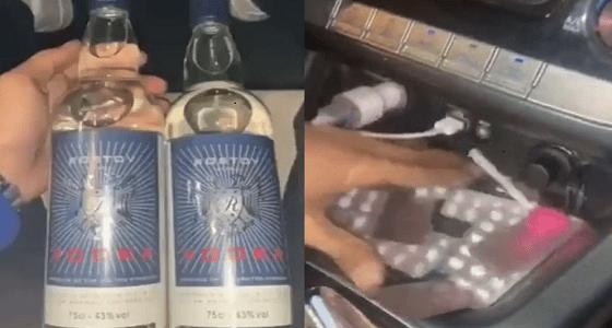 القبض على أشخاص ظهروا بفيديو يتعاطون المخدرات داخل مركبة في الرياض