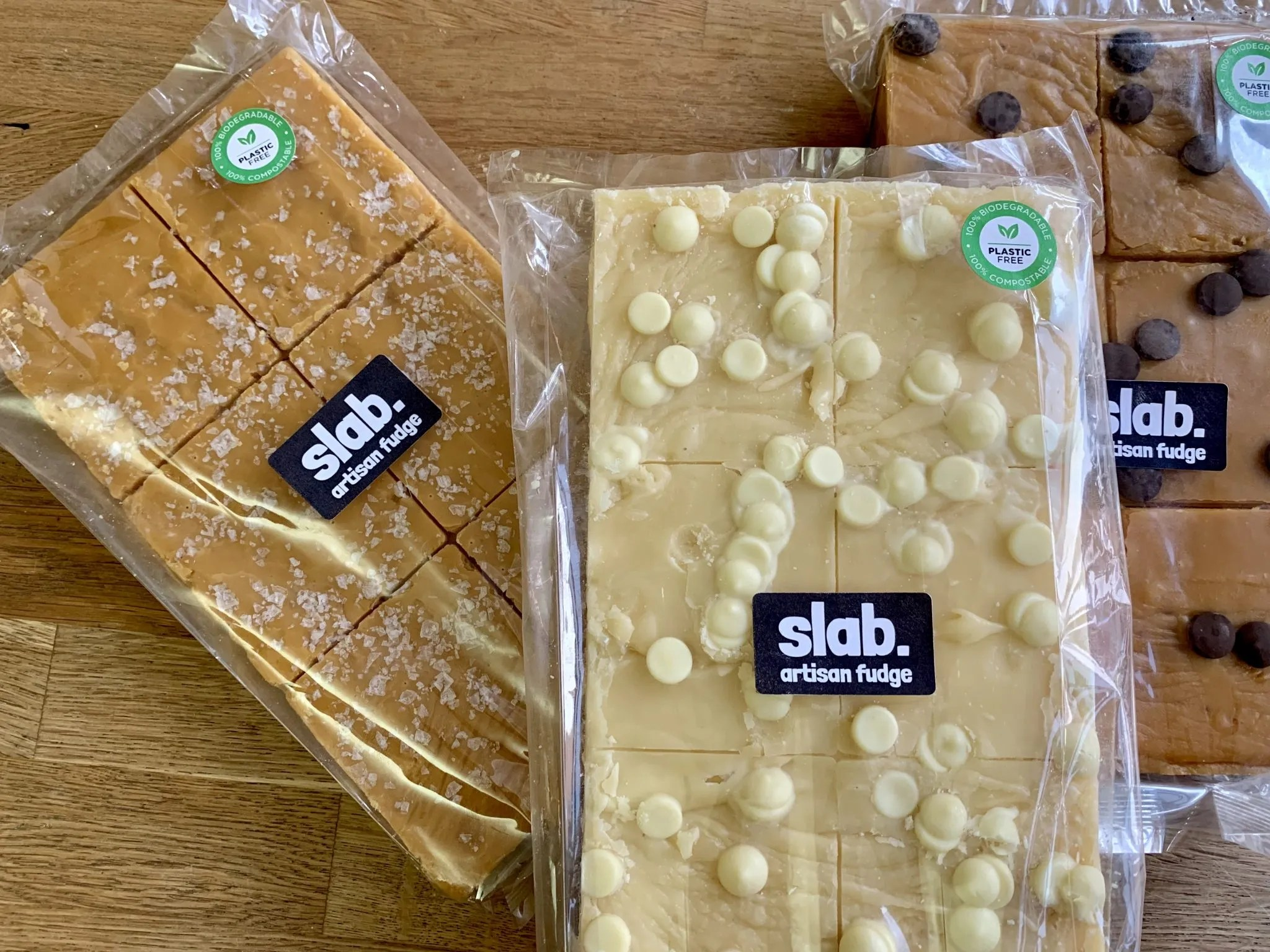Slab Artisan Fudge - Super Slab Wrapped - Dairy 1