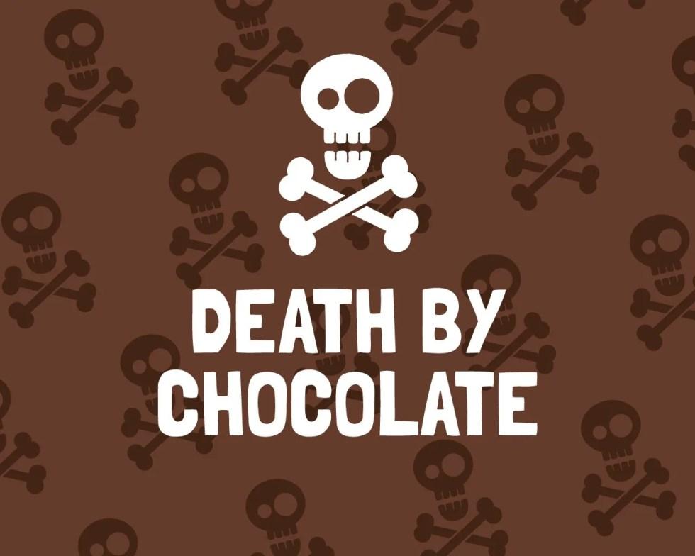Slab Artisan Fudge - Death By Chocolate Flavour Graphic
