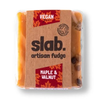 Slab Artisan Fudge - Vegan Maple & Walnut Product Photo