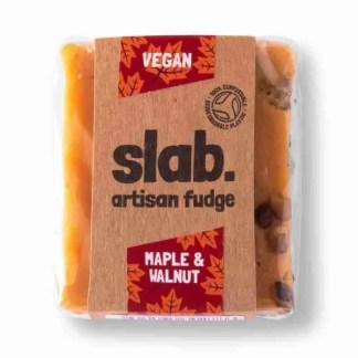 Slab Artisan Fudge - Vegan Maple & Walnut Product Photo