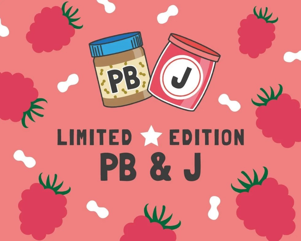 Slab Artisan Fudge - Vegan PB & J Flavour Graphic