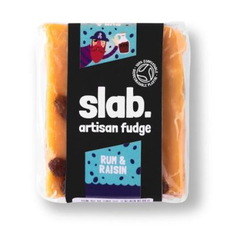 Slab Artisan Fudge - Rum & Raisin Product Photo