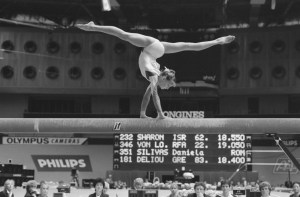 balance beam slacklining in the olympics