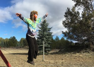 buddy thomas slacklining blind walking bling slacklining with eyes closed slackline training drills slackrobats bend oregon blindfolded