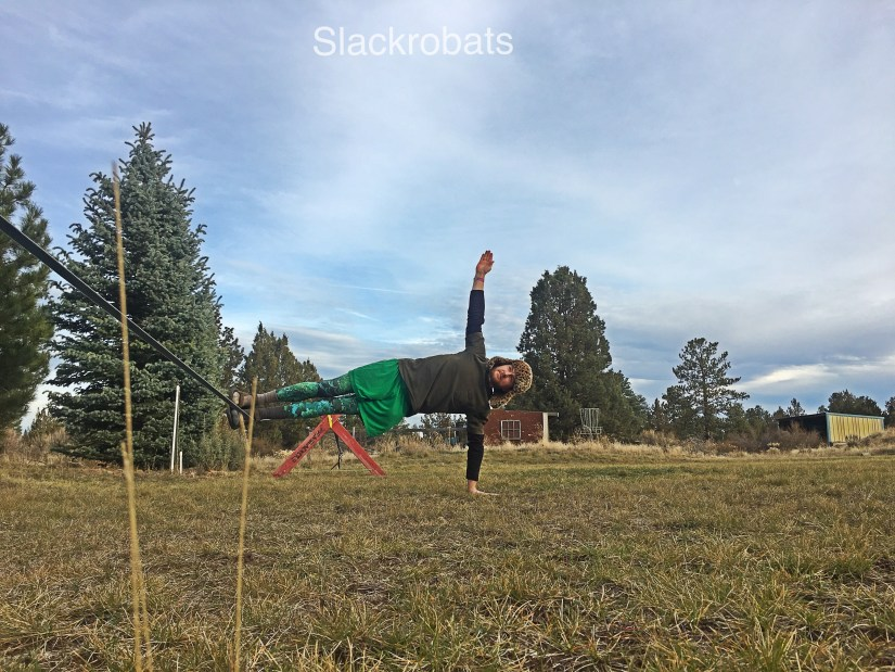 Side Plank- using the line to create movement