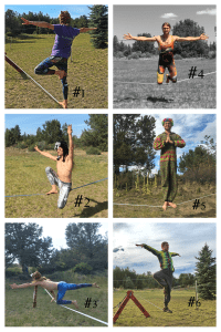 slackrobats slackline training long hold sequence