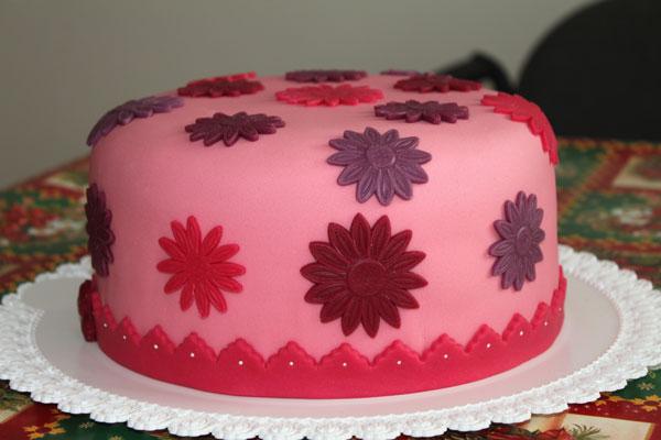 Kvietková - cukríková tortička