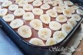 Banánové kocky so šľahačkou