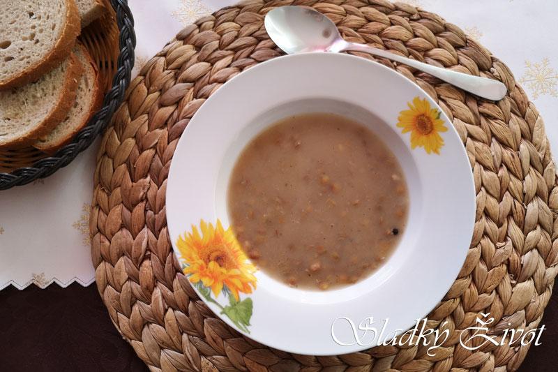 šošovicová polievka - sladký život